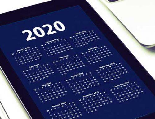 Calendario laboral 2020. Días festivos y puentes